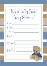Teddy bear baby shower ideas all sorts of bear party ideas teddy bear baby shower invitation filmwisefo