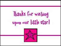 free baby shower thank you cards